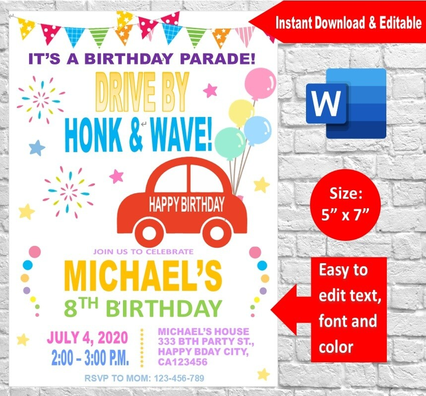 party invitation supplies store