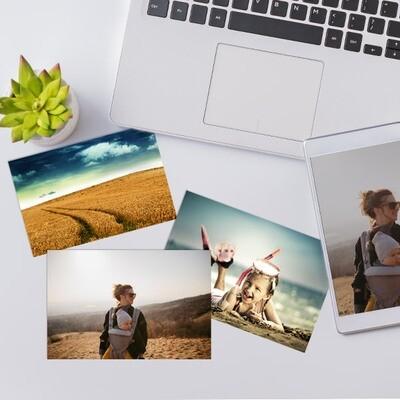 10x13 cm print på fotopapir