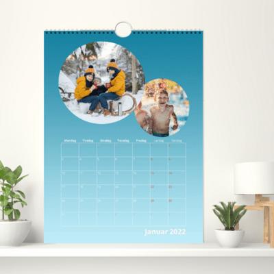Veggkalender 30x40 cm