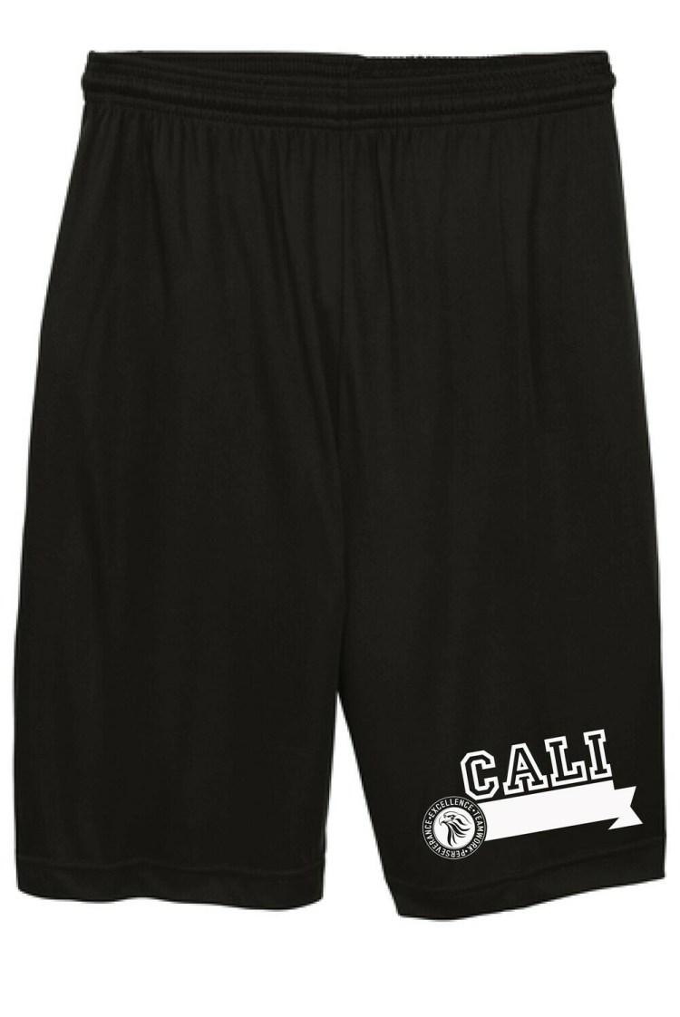 IS Boys Black Shorts / Shortspara niños - color negro