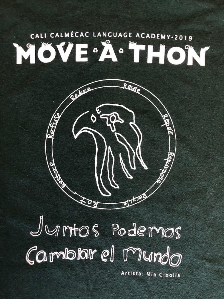 2019 Move-a-thon T-Shirt (lower design / diseño de los grados menores)