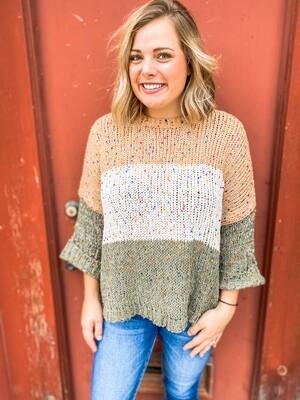 Cozy One-Size Sweater