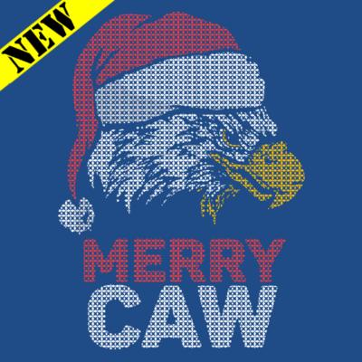 Sweatshirt - Christmas Sweater - Merry Caw