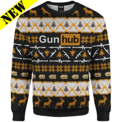 GH Christmas Sweater - GunHub