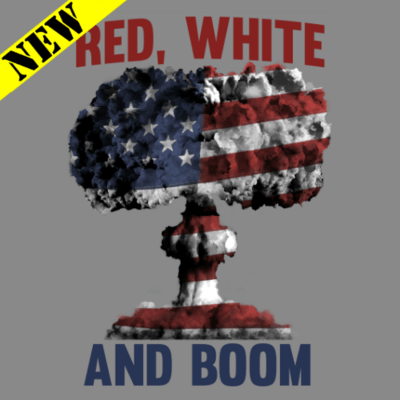T-Shirt - Red, White, and BOOM