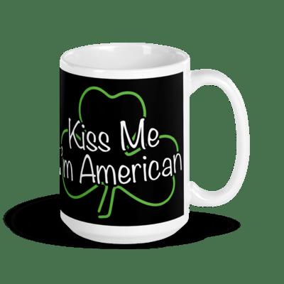 Coffee Mug - Kiss Me, I'm American