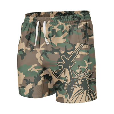 GH Swim Trunks - Camo Liberty (Shorties)