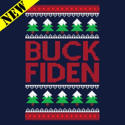T-Shirt - Christmas Sweater - Buck Fiden