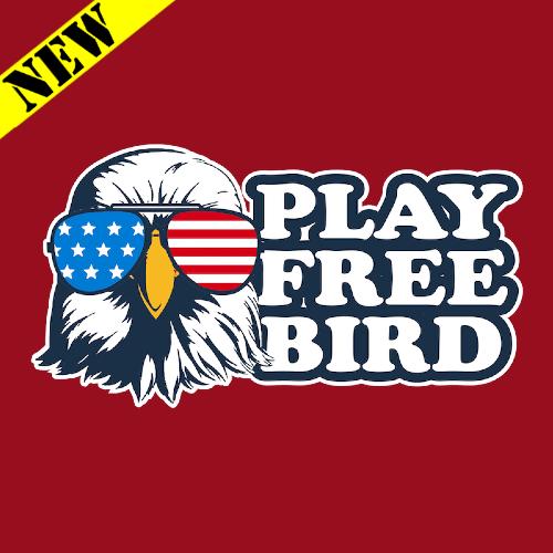 T-Shirt - Play Free Bird