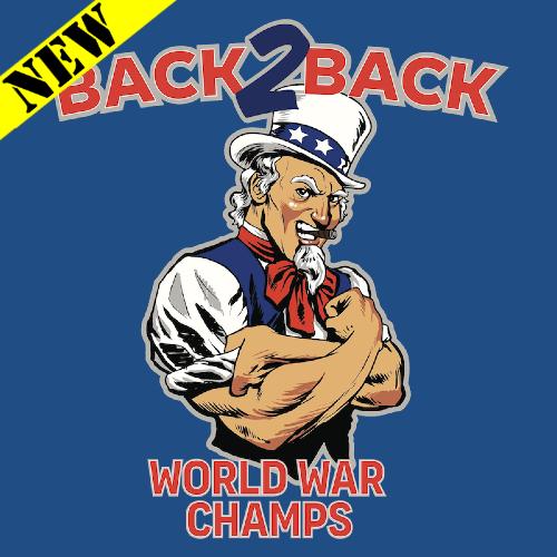 T-Shirt - World War Champs (Uncle Sam Edition)