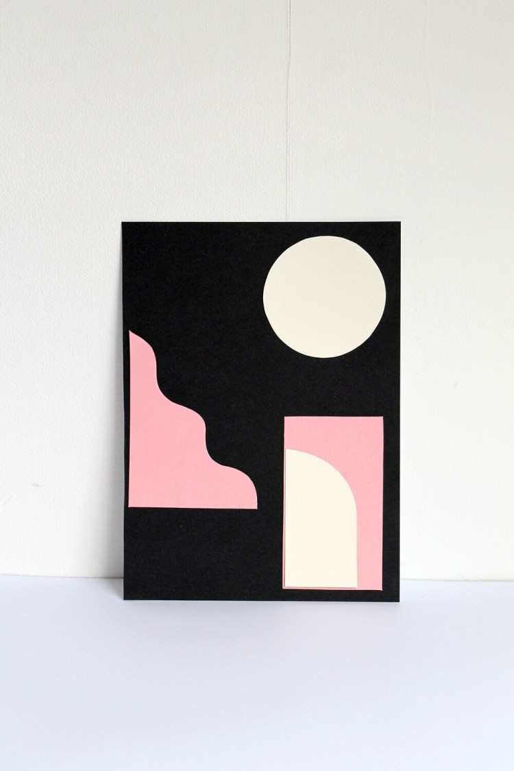 Cut Outs I: Collage on Paper