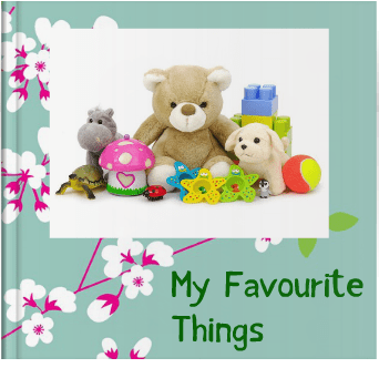 Booky Wooky Board Books 'My Favourite Things'
