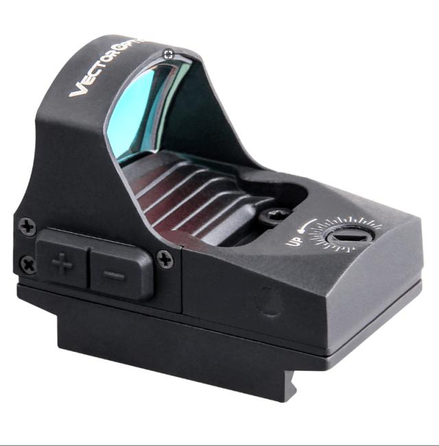Vector Optics Spirit Scrd 29 Red Dot Sight 21mm Weaver Glock 9mm Fitting Hw45