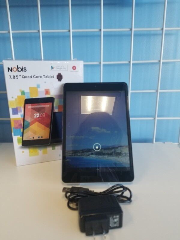 Nobis 7'' Quad Core Tablet 8GB Touch Screen NB7022 S