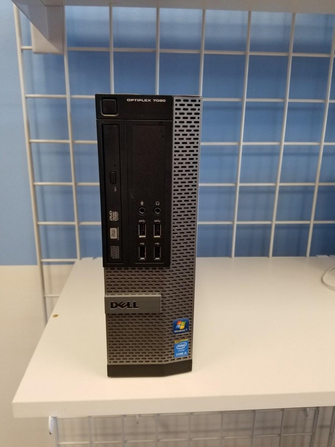 Dell OptiPlex 7020 Intel Core i5-4590 @3.3GHz 8GB Ram 500GB HDD Intel HD Graphics 4600