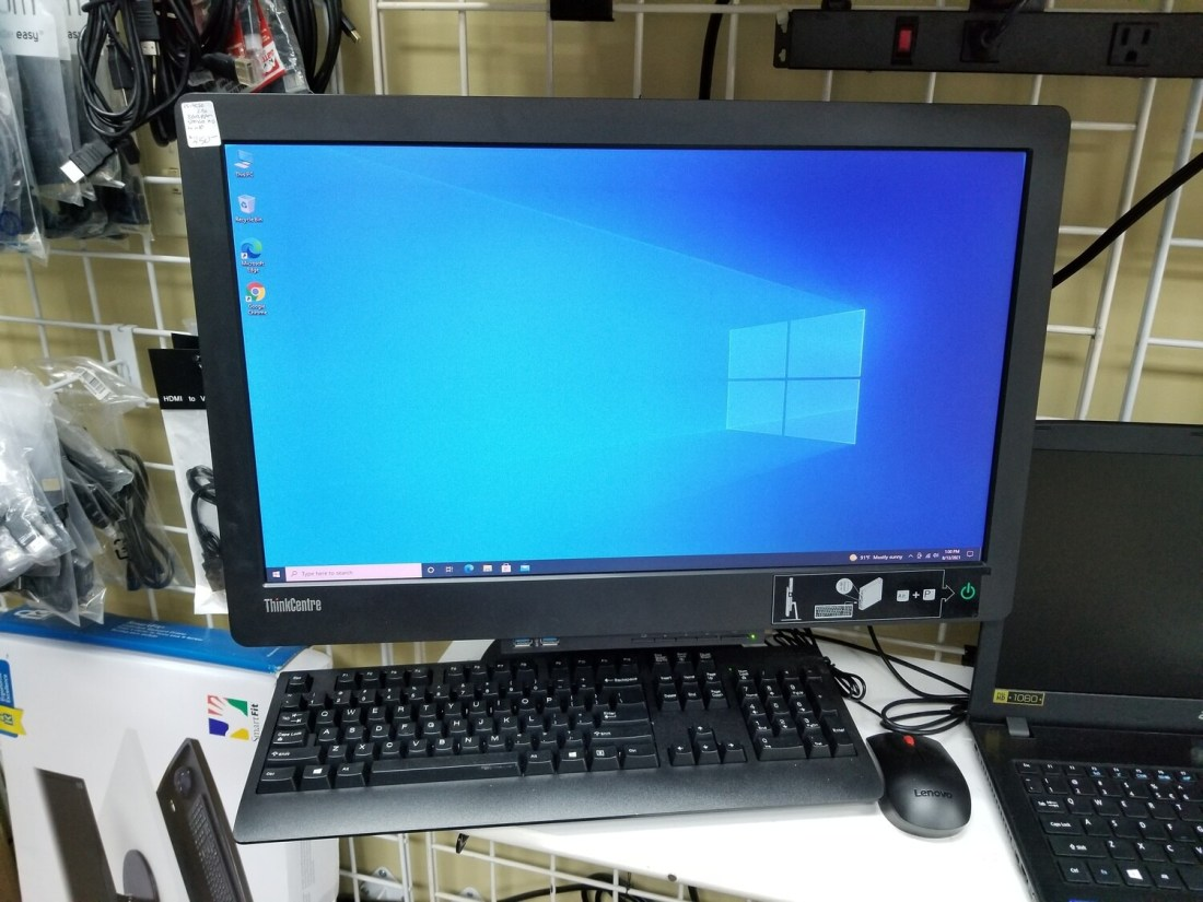 Lenovo ThinkCentre All-in-One Intel Core i5-4570 @2.90GHz 8GB RAM 500GB HD Windows 10
