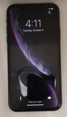 Apple iPhone XR 128GB Storage (Unlocked) -Black