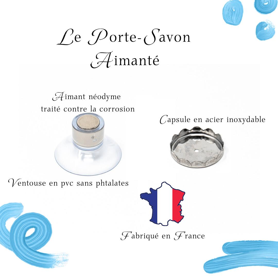 porte savon minimaliste aimante fabrique en france sans emballage