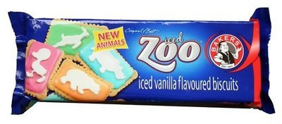 Bakers Zoo iced Biscuits 150g