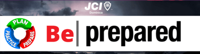 JCI - Be Prepared - Bumper Stickers