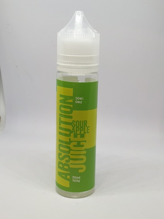 Absolution Sour Apple 50ml