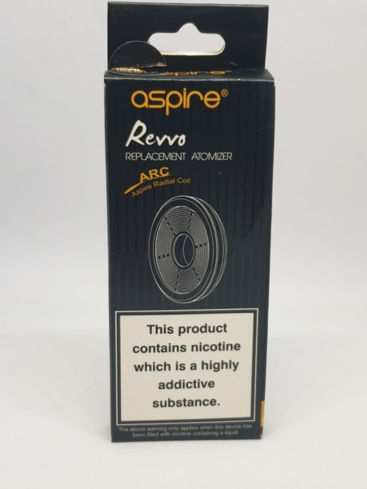 Aspire Revvo Coil Pack of 3 0.16 Ohm