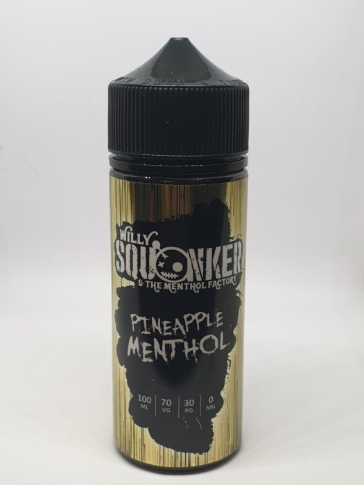 Willy Squonker Pineapple Menthol 100ml