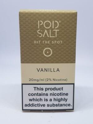 Pod Salt Vanilla 10ml 20mg
