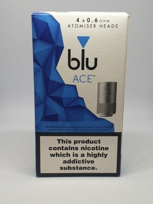 Blu Ace Coil Pack Of 4