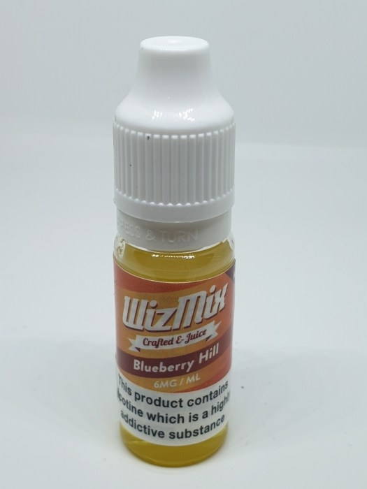 Wizmix Blueberry Hill 10ml 6mg 50/50