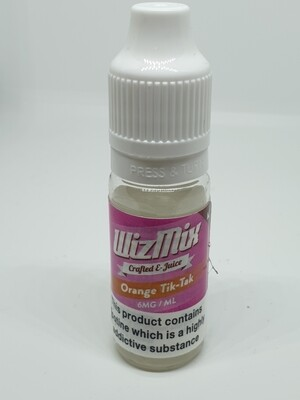 Wizmix Orange Tik-Tak 10ml 6mg 50/50