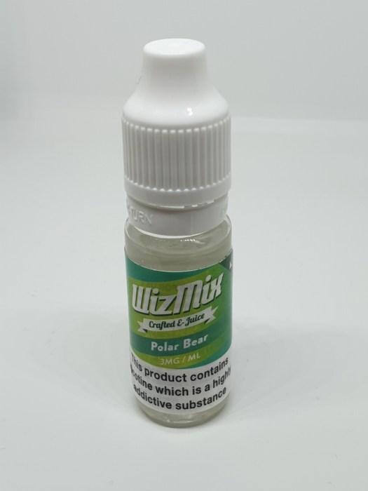 Wizmix Polar Bear 10ml 3mg 50/50