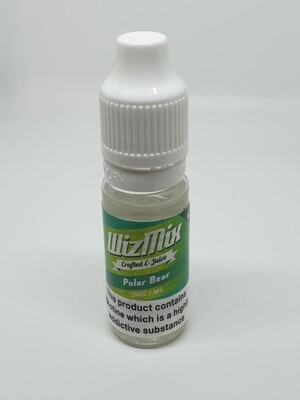 Wizmix Polar Bear 10ml 3mg 50/50