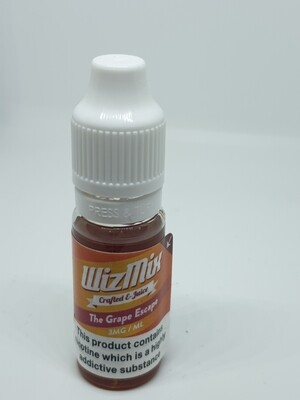 Wizmix The Grape Escape 10ml 3mg 50/50
