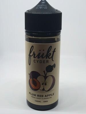 Frukt Cyder Plum Red Apple 100ml