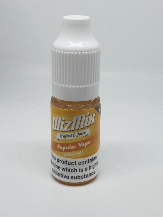 Wizmix Popular Vape 10ml 6mg 50/50
