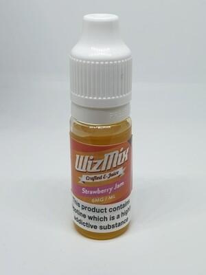 Wizmix Strawberry Jam 10ml 3mg 50/50