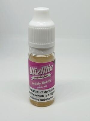 Wizmix Jubbly Bubbly 10ml 3mg 50/50