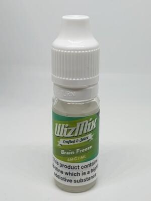 Wizmix Brain Freeze 10ml 6mg 50/50
