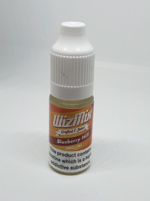 Wizmix Blueberry Hill 10ml 3mg 50/50