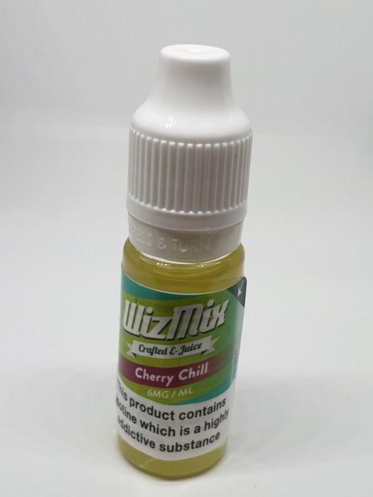 Wizmix Cherry Chill 10ml 6mg 50/50