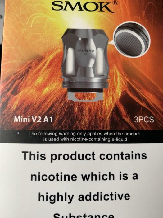 Smok Baby V2 A1 Coils Pack 3