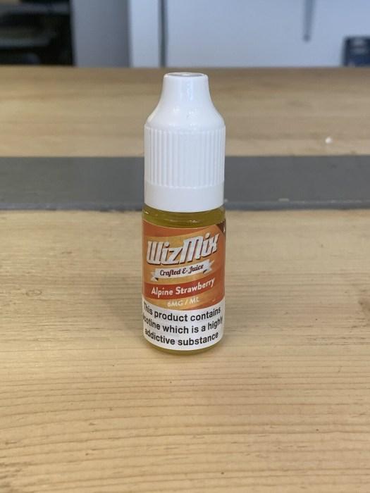 Wizmix Alpine Strawberry 6mg 10ml 50/50