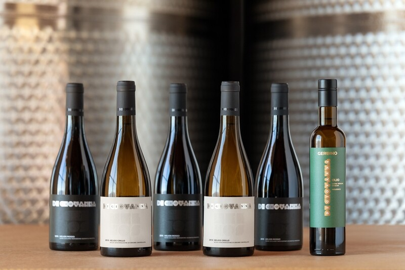 HELIOS Flagship Wine & Olive Oil- 6 bottles