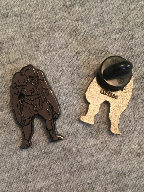 Enamel Bigfoot Pin