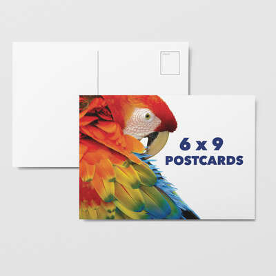 6x9 Full Color Postcards - Double Sided