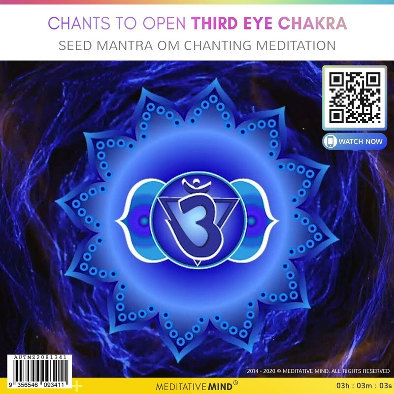 CHANTS TO OPEN THIRD EYE CHAKRA - Seed Mantra OM Chanting Meditation