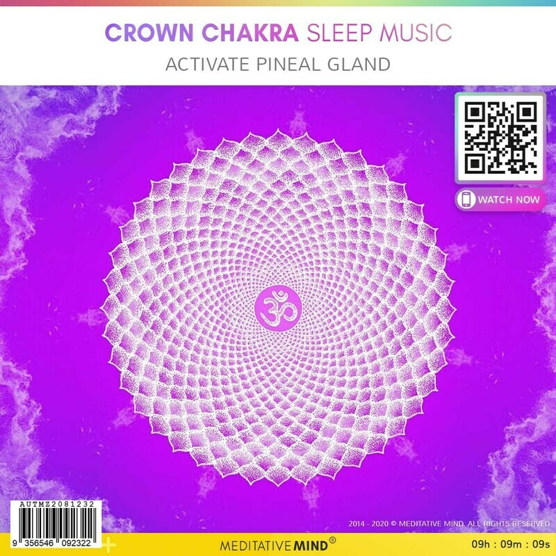 CROWN CHAKRA Sleep Music - Activate Pineal Gland