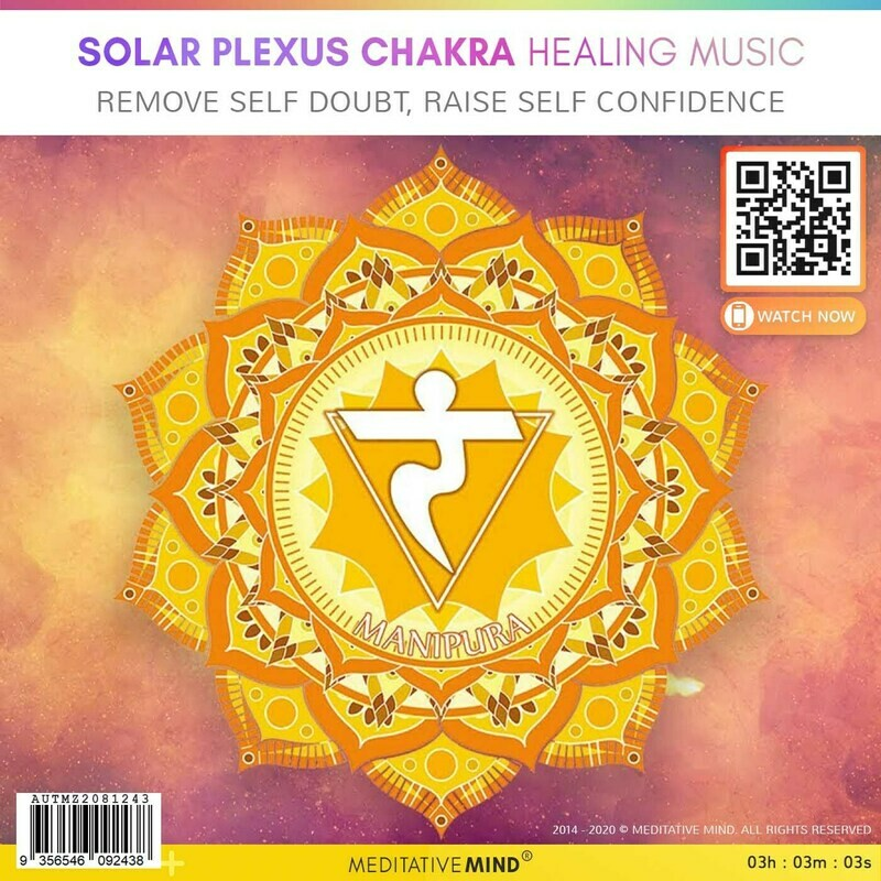 SOLAR PLEXUS CHAKRA HEALING MUSIC - Remove Self Doubt, Raise Self Confidence