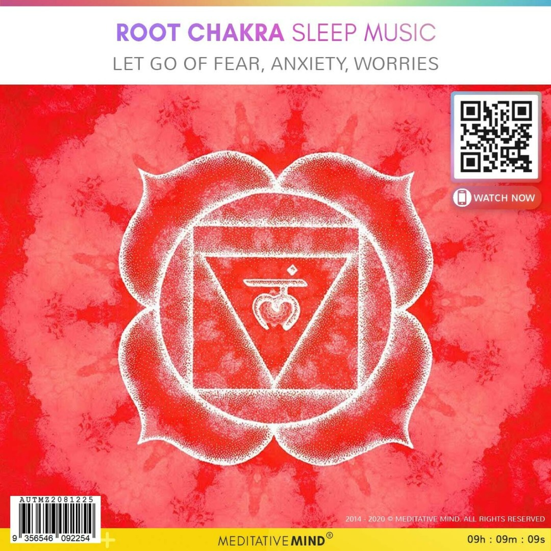 Root Chakra Sleep Music - Let Go of Fear, Anxiety, Worries